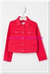 DeFacto kız çocuk fuşya spor ceket-35 TL