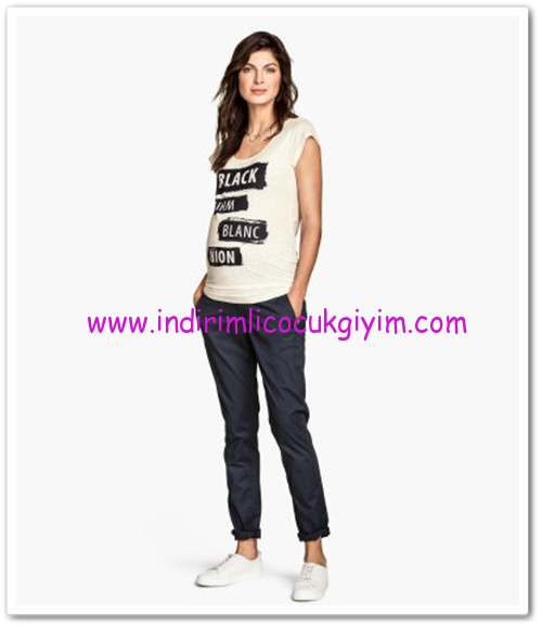 HM-hamile chino pantolon-80 TL