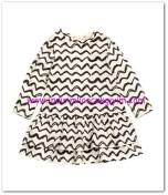 HM-kız bebek farbalalı elbise-30 TL