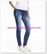 HM-mavi boyfriend trashed hamile jean pantolon-119 TL