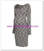 HM-siyah kırçıllı jarse hamile elbise-60 TL