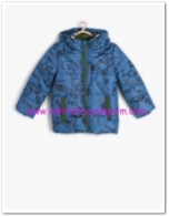 Koton erkek çocuk lacivert desenli kaban-50 TL