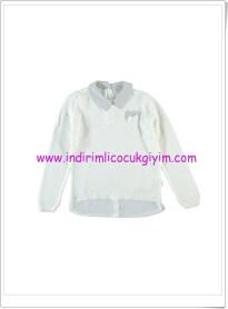 LCW kız çocuk ekru kazak-36 TL