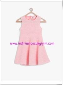 Koton kız çocuk pudra kolsuz elbise-50 TL