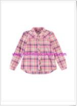 LC Waikiki kız çocuk pembe kareli gömlek-20 TL