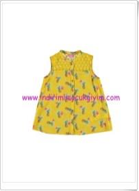 LCW kız çocuk ananaslı kolsuz bluz-25 TL