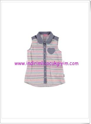 LCW kız çocuk ekru kolsuz bluz-20 TL