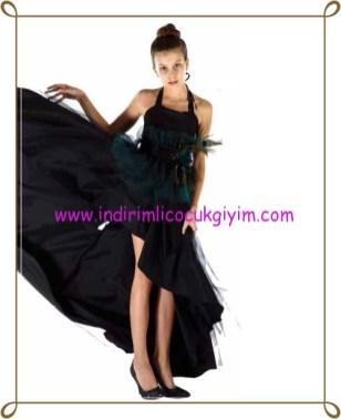 Puledro 8-13 yaş kız çoauk abiye elbise-120 TL