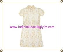 Puledro gold işlemeli kız çocuk abiye elbise-60 TL