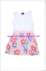 U.S Polo kız çocuk çiçekli elbise-20 TL