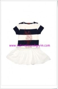 U.S Polo kız çocuk eteği fırfırlı elbise-40 TL