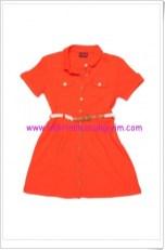 U.S Polo kız çocuk turuncu elbise-40 TL