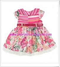 modakids-kiz-cocuk-çiçek desenli elbise-33 TL