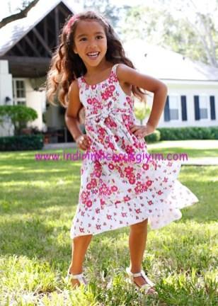 Bonprix örgü kemerli kız çocuk elbise