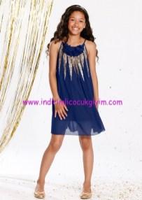 Bonprix kız çocuk payetli şifon elbise