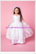 DeFacto kız çocuk beyaz prenses kostümü-80 TL