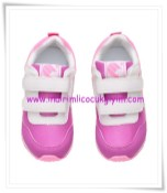 HM kız çocuk mor file spor ayakkabı-60 TL