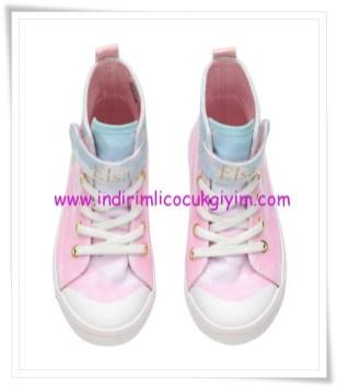 HM kız çocuk pembe yüksek boğazlı spor ayakkabı-40 TL