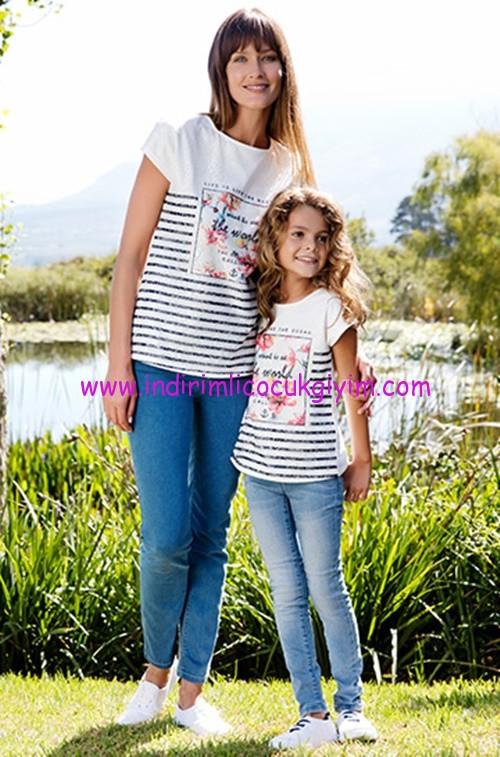 LCW Anne-Kız Çocuk Giyim Modelleri