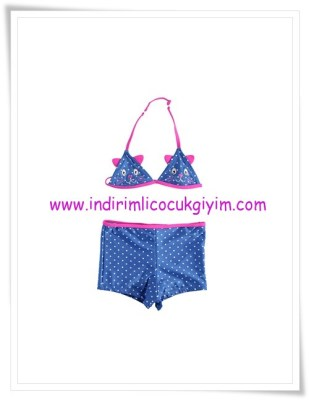 LCW kız çocuk lacivert puantiyeli bikini-27 TL