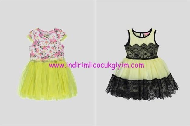 LCW kız çocuk tül etekli elbise modelleri