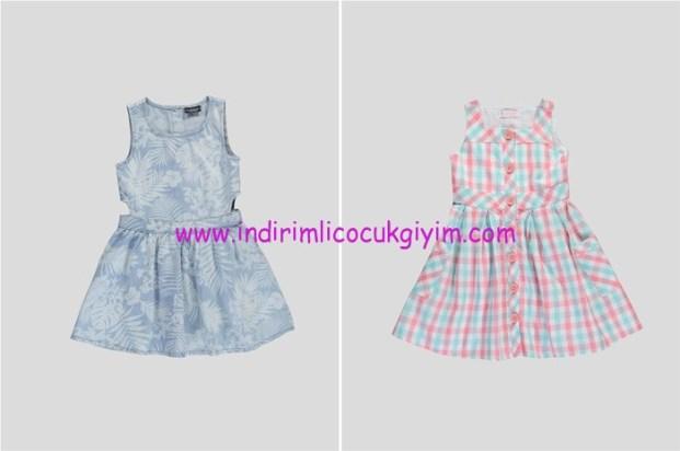 LCW kız çocuk yeni sezon elbise modelleri