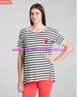 Marin temalı hamile tişörtü-80 TL