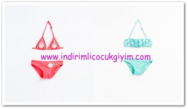Zara 2016 kız çocuk bikini modelleri