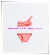 Zara kız çocuk fırfırlı tek omuzlu bikini-56 TL