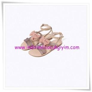 Zara kız çocuk pembe kurdeleli sandalet-86 TL