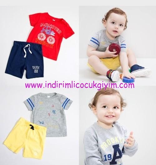 LCW erkek çocuk tişört-şort modelleri