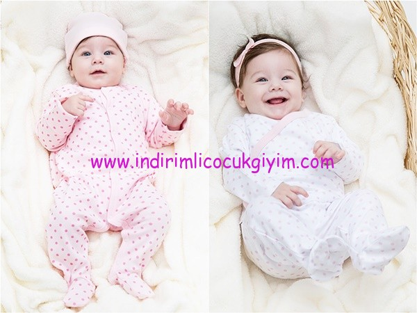 LCW yenidoğan kız bebek giyim modelleri