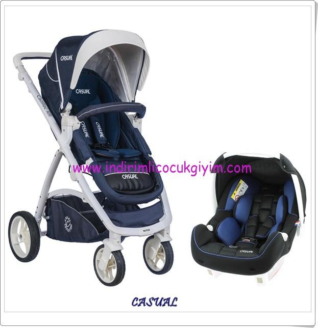 Casual Cadillac Air Travel sistem mavi bebek arabası