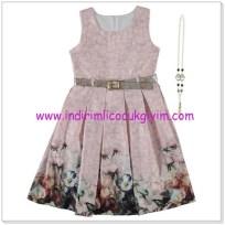Civil 10-13 yaş kız çocuk elbise