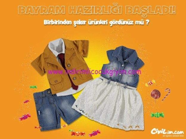 Civil 2016 çocuk bayramlık koleksiyonu