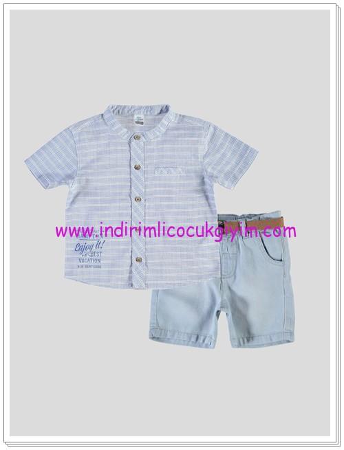 LCW erkek bebek gömlek-şort takım-47 TL