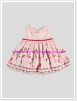 LCW kız bebek pembe desenli elbise-36 TL