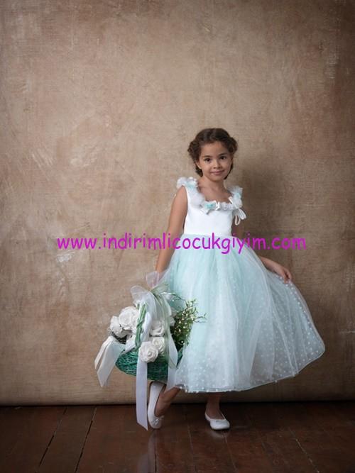 Little Fairy kız çocuk nedime elbiseleri
