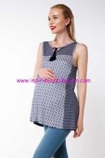 DeFacto desenli hamile bluzu