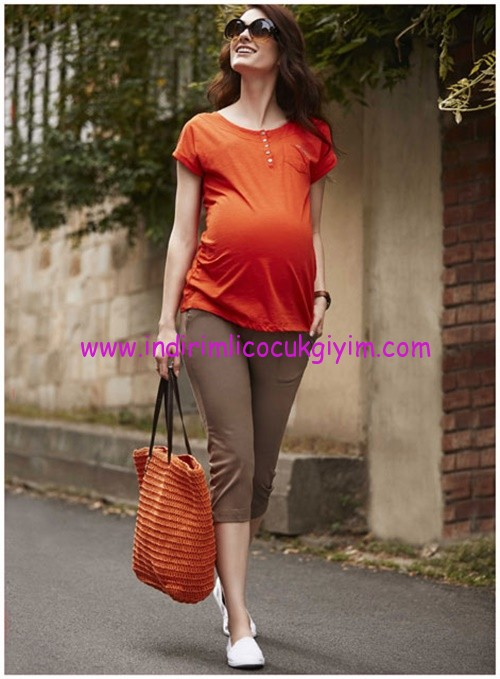 defacto hamile kapri modelleri