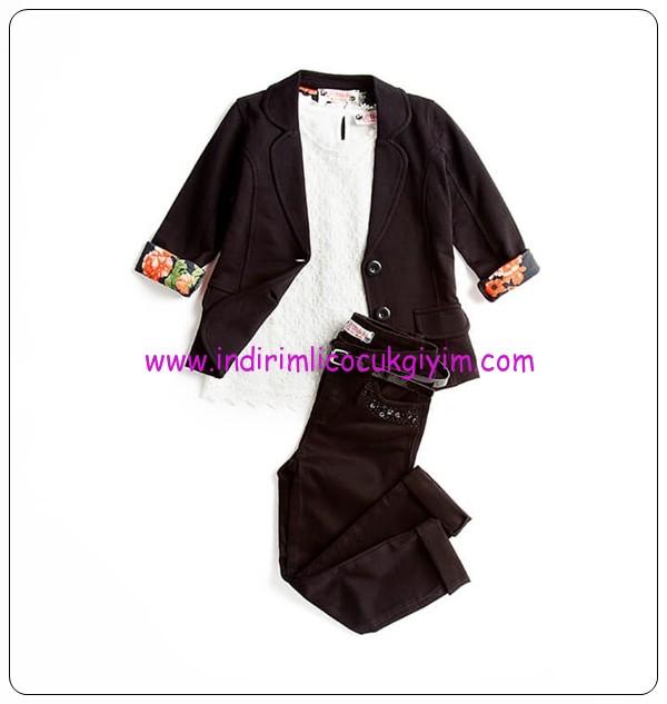 LCW kız çocuk bayramlık ceket-pantolon kombin