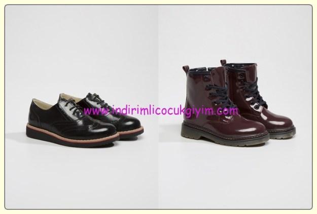 LCW kız çocuk okul ayakkabı-bot modelleri