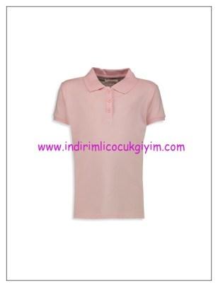LCW kız çocuk pembe polo tişört-15 TL
