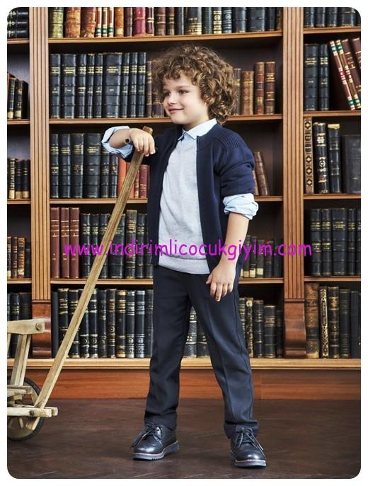 lcw erkek cocuk gabardin okul pantolonu-30 TL