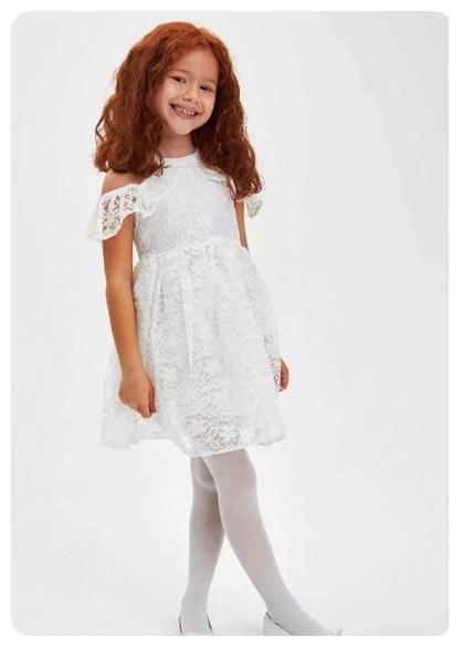 tul-detayli-beyaz-elbise