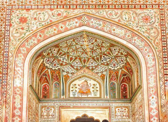 गणेश पोल - आमेर दुर्ग राजस्थान