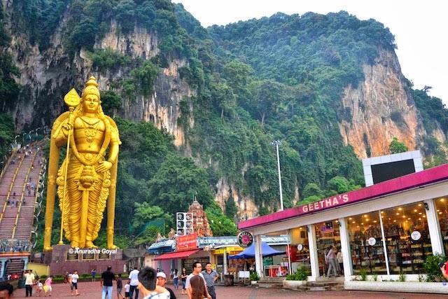 The magnificent grand Murugan statue of Batu Cave