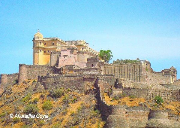 कुम्भलगढ़ दुर्ग - राजस्थान