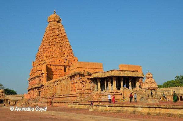 तंजावुर का बृहदीश्वर मंदिर