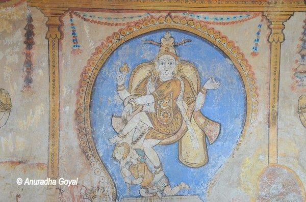 शिव का नटराज रूप - बृहदिश्वर मंदिर तंजावुर